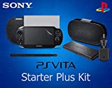 OFFICIAL PS Vita 7 in 1 Starter Plus Accessory Kit - Leather Flip