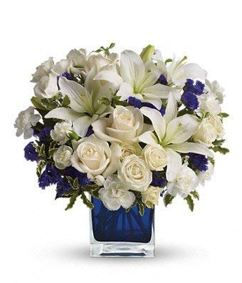 Blue Sympathies Bouquet
