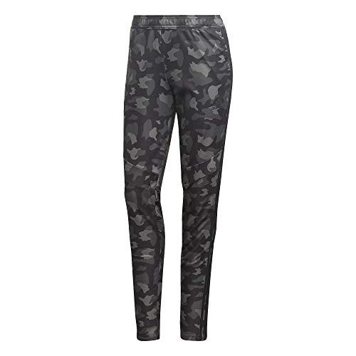 adidas Damen Hose Tiro Allover Print Hose, Black, 2XS, GI4661