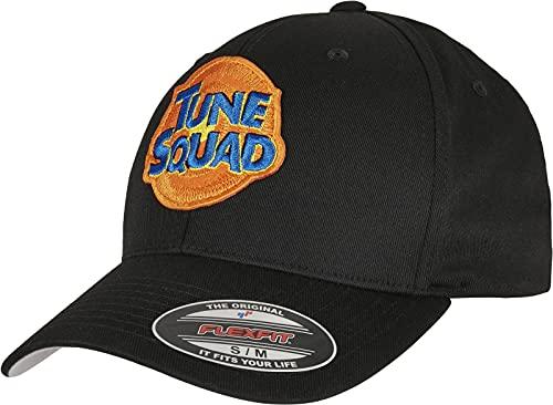 Mister Tee Tune Squad Logo Flexfit Gorra de bisbol, Negro, S/M Unisex Adulto