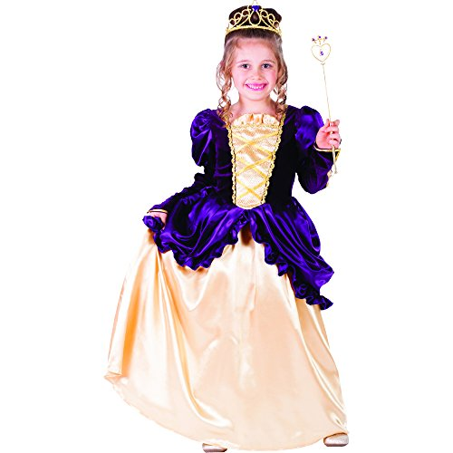 Dress Up America Peignoir Belle Boule Violet Petite Fille
