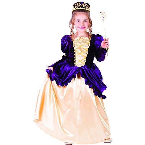 Dress Up America Peignoir Belle Boule Violet Petite Fille