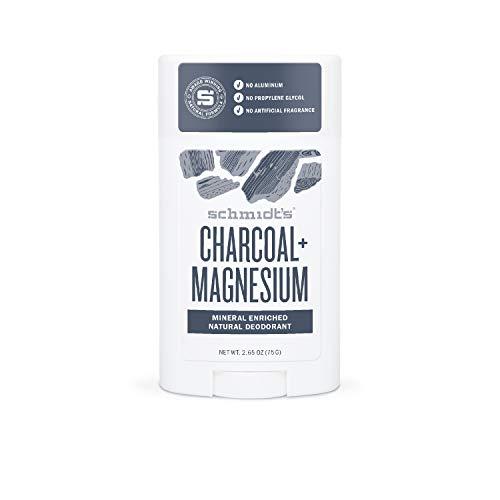 2. Schmidt's Deodorante Stick Charcoal & Magnesio