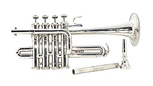 SCEXPORTS PRO TYR-79 Piccolo Trumpet, Bb, Nickel SILVER PRO120