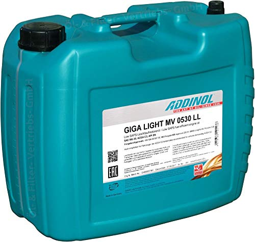 ADDINOL Motorenöl Giga Light SAE 5W-30 20 Liter MV 0530LL