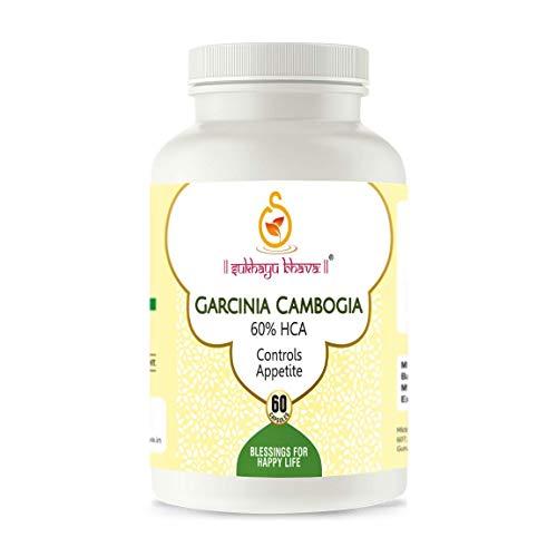 Sukhayubhava Garcinia Cambogia Extract 60% HCA Capsules – 60 Count