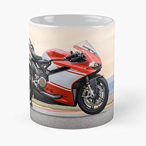 5TheWay Ducati Mug Panigale Superleggera Best 11 oz Kaffeebecher - Nespresso Tassen Kaffee Motive