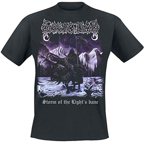 Dissection Storm of the light's bane Camiseta Negro