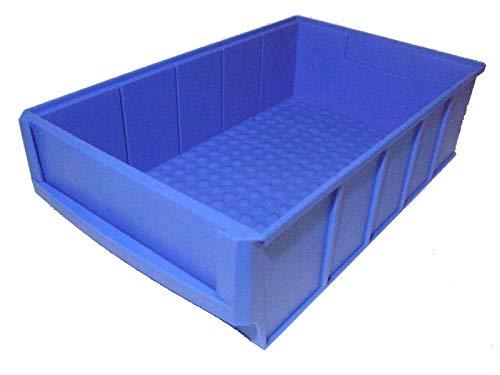 Industriebox 500x91x81 mm rot Regalboxen Lagerbox Stapelbox 10 Stück