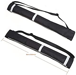 Atopxing 2PCS Reverse Umbrella Carry Bags, Double Layer Inverted Umbrella Storage Bag, Waterproof and Anti-Dust Reversible...