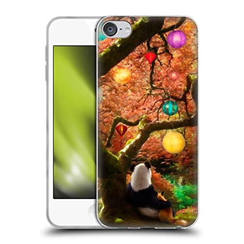 Head Case Designs Officially Licensed Aimee Stewart Panda & Fox Fantasy Soft Gel Case Compatible with Apple Touch 6th Gen / Touch 7th Gen