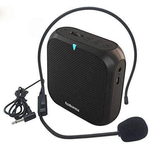 APROTII Rolton K400 Amplificador de voz portátil Megáfono Booster con micrófono con...
