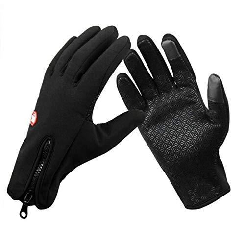IAMZHL Winterhandschuhe Touch Screen Handschuhe Wasserdicht Männer Frauen Warm Winddicht Fahrrad Anti Slip Handschuhe Ski Radfahren Handschuhe a32 One Size