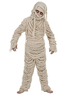 Mummy Costume for Kids Deluxe Mummy Outfit for Boys and Girls Small