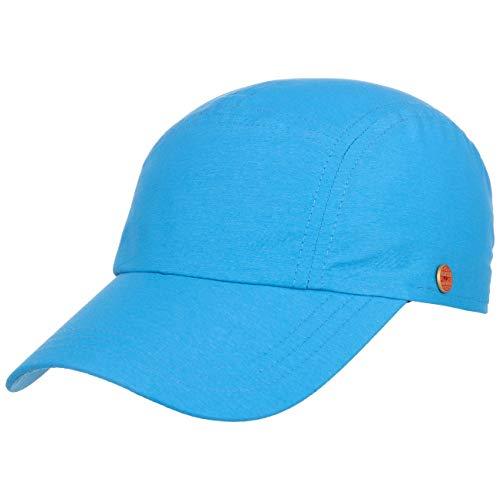Mayser Riccardo II Sunblocker Cap Sonnencap Sommercap Basecap Nyloncap Baseballcap (59 cm - blau)