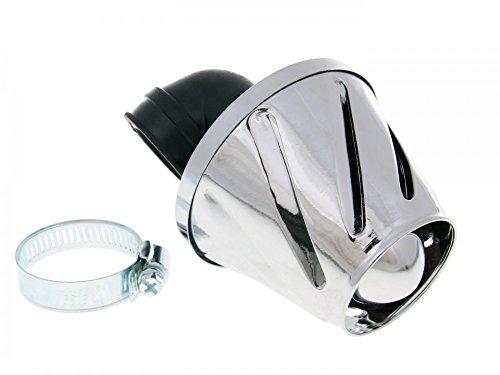 Filtre à air Puissance Helix 28/35 mm chromé