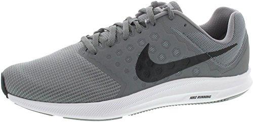 Nike Downshifter 7, Men's Running, Grey (Stealth/black-cool Grey-white), 7 UK