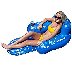 top rated Swimline tropical chair, blue 2021