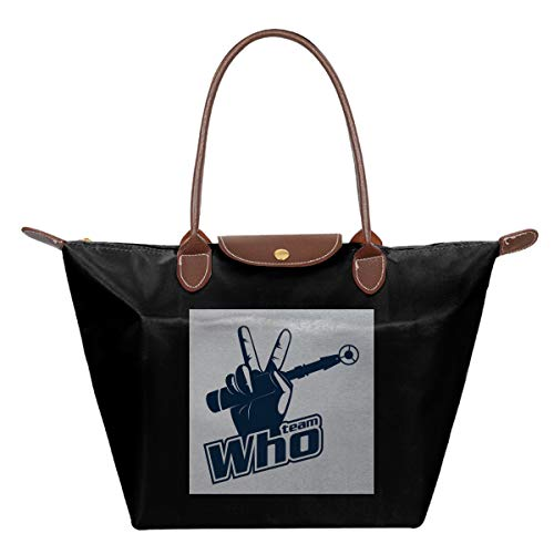 Team Who Doctor Who Sonic Destornillador impermeable de piel plegable bolsa de...