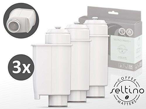 3x Trippel Pack Seltino PRIMO+ waterfilter voor PHILIPS SAECO koffiemachines, compatibel met Brita Intenza+ (9 filters in set)