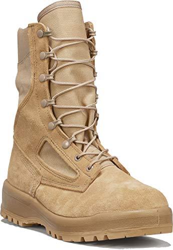 B Belleville Arm Your Feet Men's 390 DES Hot Weather Combat Boot, Tan - 8 R
