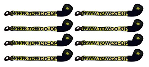 Buy Bargain BA Products wb38-3d x 8, Set of 8 Straps with Snap Hooks for Dynamic, Century, Vulcan Au...
