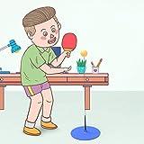 BBGSFDC Mesa de Ping Pong Trainer, Mesa de Ping Pong práctica de Series, con Flexible rápida de Dispositivos de Rebote for Personal/Doble Ejercicio