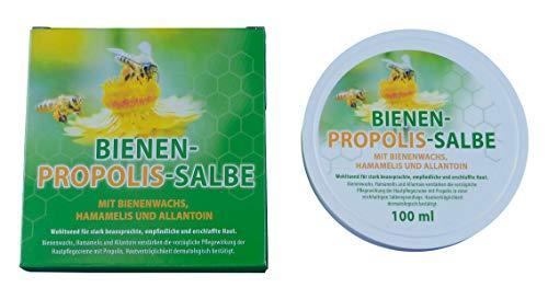 Propolis Salbe 100 ml - Hautpflege mit Propolis, Bienenwachs, Hamamelis und Allantoin