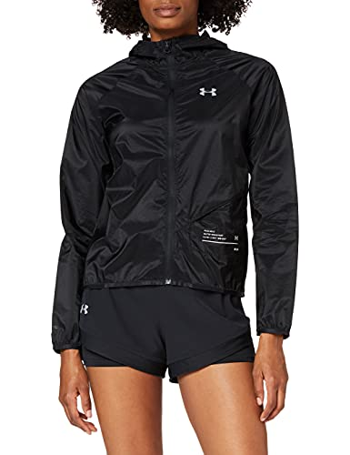 Under Armour UA Qualifier Storm Packable Jacket Chaqueta, Mujer, Negro...