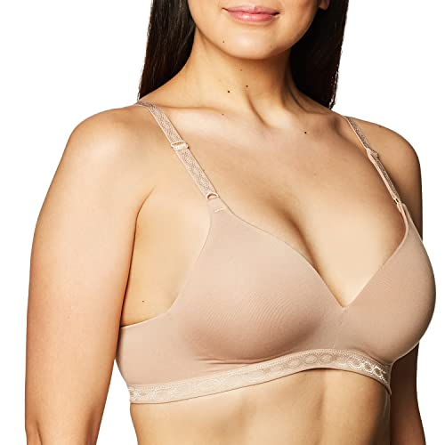 Warner's womens Cloud 9 Wire-Free Contour Bra,Toasted Almond,34B