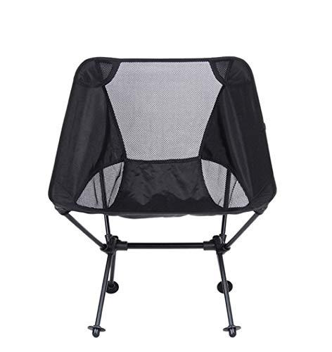 ABDOMINAL WHEEL Silla de Camping Plegable Ligera y Sólida,con Bolsa de Transporte, para Camping, Senderismo, Caza, Pesca y Viaje - Portable Style
