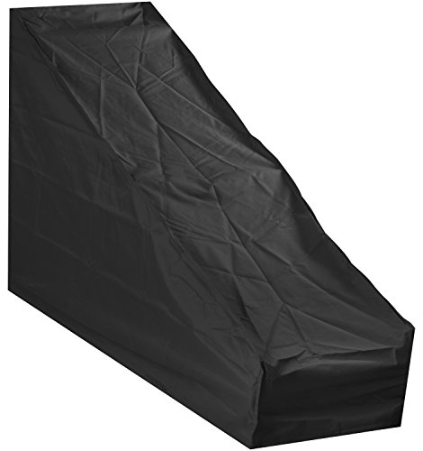 Woodside Large Black Protective Garden Lawn Mower Cover 1.7m x 0.6m x...