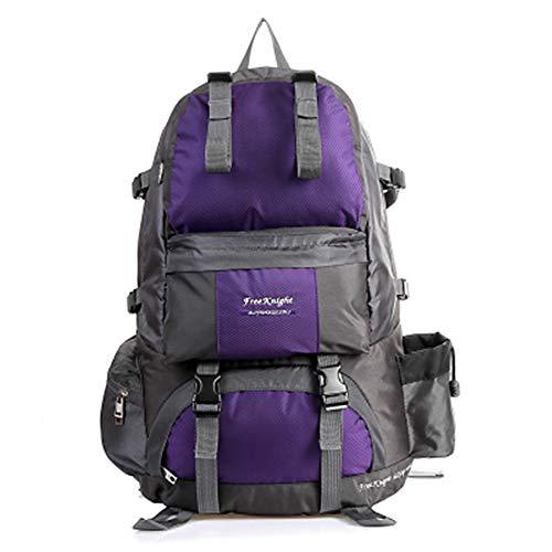 TnXan Waterproof Nylon Outdoor travel Backpack Hiking Camping Backpack Backpack Sports Bag Hiking Camping Hiking Hiking Backpack Mochila 50L