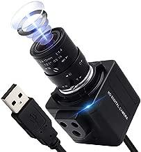 ALPCAM 4K USB Camera Ultra HD 2160P Webcam,5X Optical Manual Wide Angle Webcam with 2.8-12mm Varifocal Lens,Sony IMX317 Sensor USB Zoom Video Conference Camera for Mac/Window/Linux/Raspberry Pi