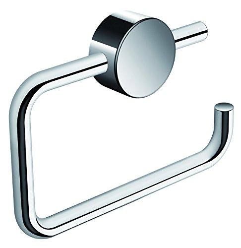 HEWI WC-Papierhalter (Toilettenpapierhalter) verchromt, BxHxT 140 x 99 x 21 mm, klappbar - 815.21.100