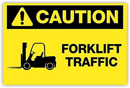 Mesllings Señal advertencia seguridad metal, advertencia