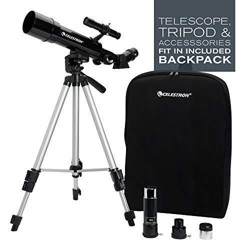 Celestron - 50mm Travel Scope - Portable Refractor Telescope -...