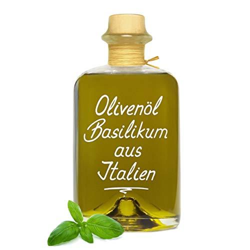 Olivenöl Basilikum aus Italien 1L sehr aromatisch extra vergine sehr aromatisch