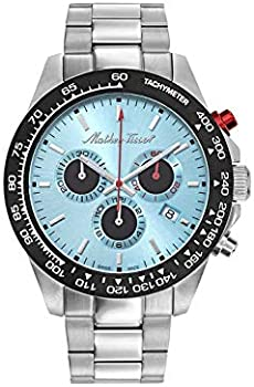 Mathey-Tissot Chronograph Quartz Blue Dial Men's Watch