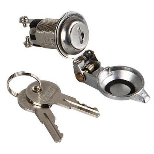 Interruptor de llave, interruptor de bloqueo, encendido y apagado, llave de 12 V 24 V