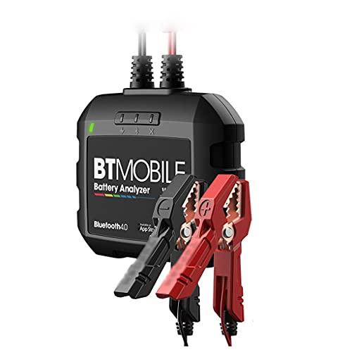 SLSFJLKJ Probador De Batería De Automóvil Bluetooth BT Mobile 12V Batería Inalámbrica Monitor 100 A 200 0CCA Herramienta De Analizador De Arranque del Cargador Automático