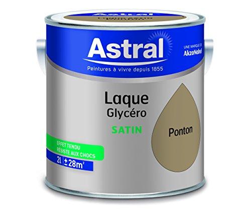 ASTRAL 5213421 Laque glycéro 2 L Satin Sable
