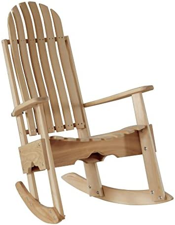 Best Cypress Rocking Chair/Rocker Contoured Seat and Back assembled with Stainless Steel Hardware Handmad