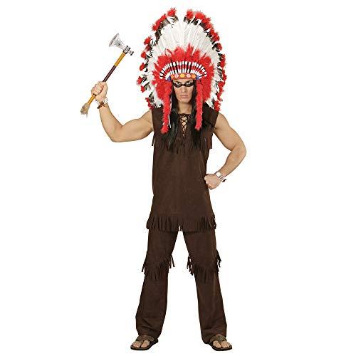 WIDMANN wdm59001?Disfraz indio, marrón, Small