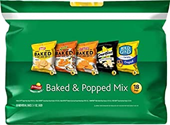 Frito-Lay 18 Piece VP Baked & Popped Mix, 15 Ounce