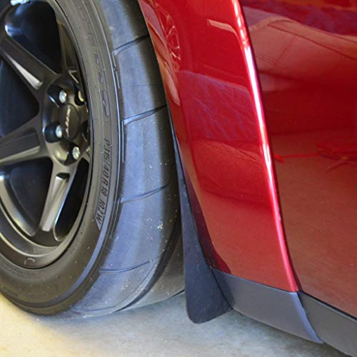 ZL1 Addons Deluxe Rock Guard Set (Front & Rear) - Compatible with 18-19 Challenger Widebody/Demon