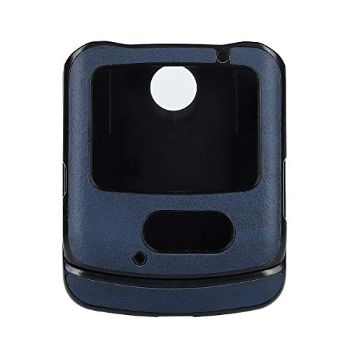 Custodia® Artificial Leather Hülle Compatible for Motorola Razr 5G (3)