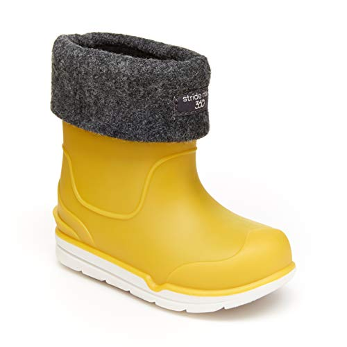 Hunter Kids Original Kids' First Classic Rain Boot (Toddler/Little Kid) Yellow 5 Toddler (UK 4T) M