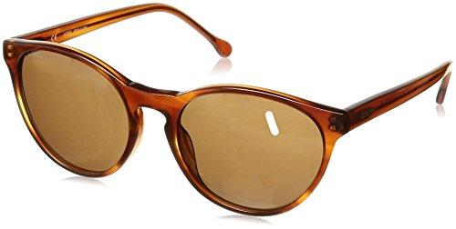 Loewe SLW929M550711 Gafas de sol, Shiny Brown Havana, 55 para Mujer