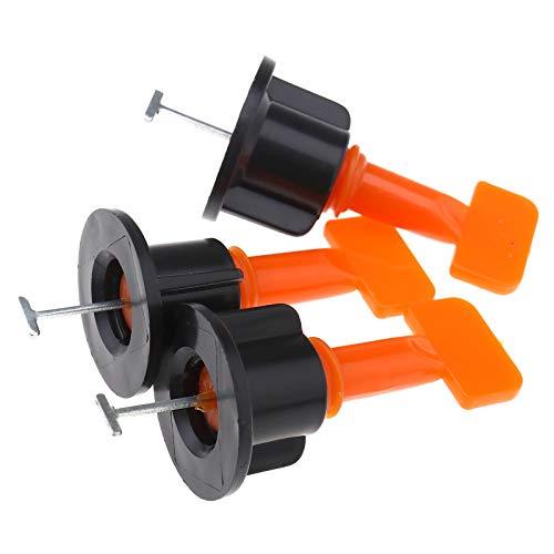 OTOTEC Set van 100x/50x tegel nivellering equalizer Locator moersleutel keramische tegel vloer muur gereedschap kit Flat keramische Leveler